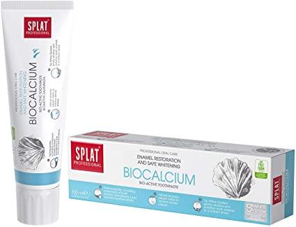 SPLAT Biocalcium Toothpaste, Enamel Strengthening, 125G