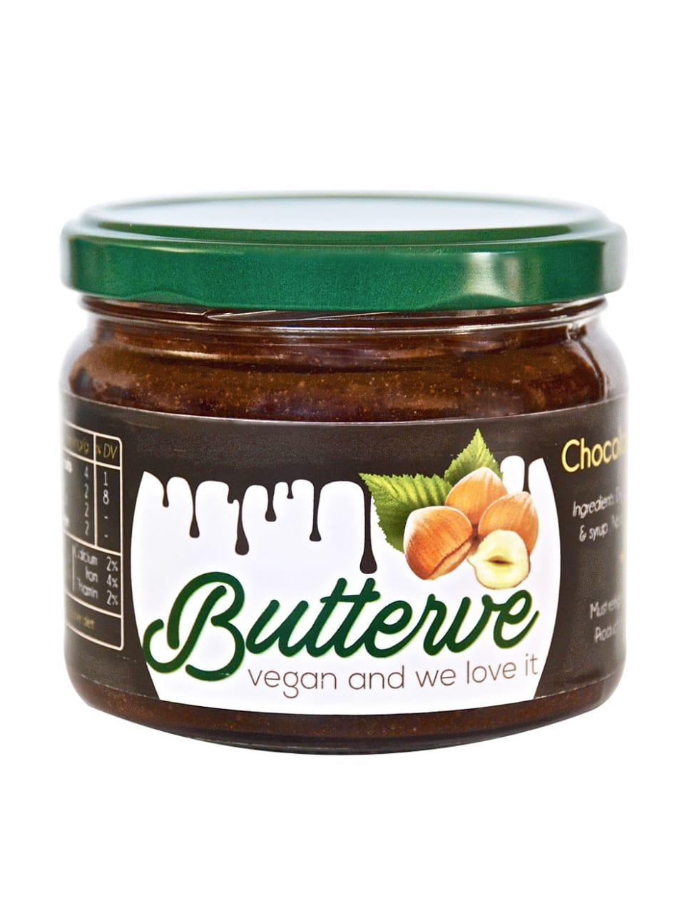 Butterve Chocolate Hazelnut Butter 260g