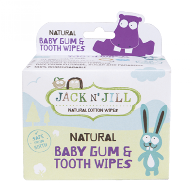 Jack N Jill Baby Gum & Tooth Wipes (25pc)